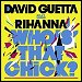 "David Guetta featuring Rihanna - ""Who's That Chick"" (Single)"